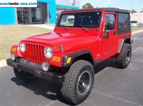 Jeep Wrangler 2005 Price For Sale 2005 Passenger Car Jeep Wrangler Unlimited 4wd