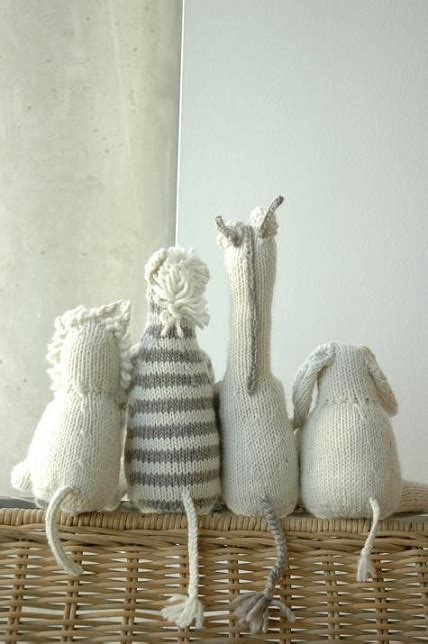 how to knit stuffed animals best 25 knitted stuffed animals ideas on