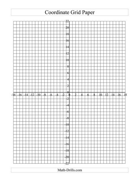 printable graph paper 30 x 40 worksheet coordinate graph paper debnamcareyweb