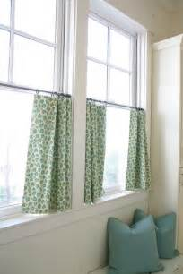 Cafe Curtains For Kitchen Martha Stewart Green Cafe Curtains