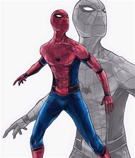 civil war spiderman spider man civil war suit marvel movies artworks awesome and suits