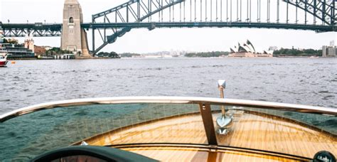 house boat sydney livin la dolce vita sydney harbour by sexy speedboat