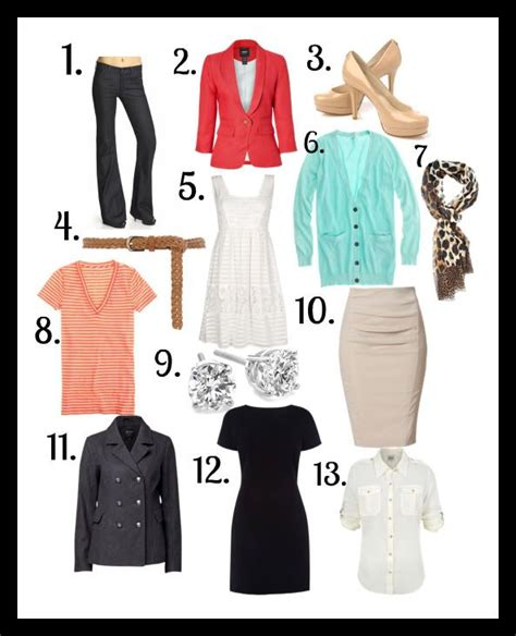 Wardrobe Staples For by Wardrobe Staples Style