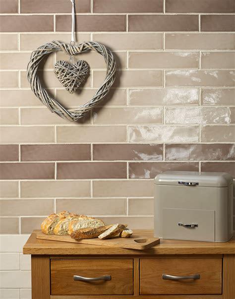 Brick Style Kitchen Tiles by New Retro Brick Style Tiles Kitchen Sourcebook