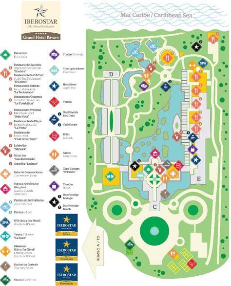 iberostar resort map resort map