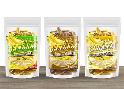 Kemasan Keripik Pisang galeri design label keripik pisang b a n a n a s