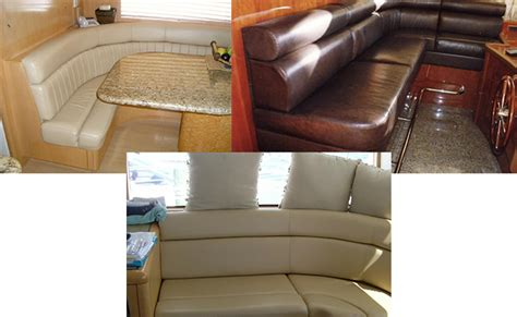 boat upholstery miami custom furniture upholstery miami elite marine canvas