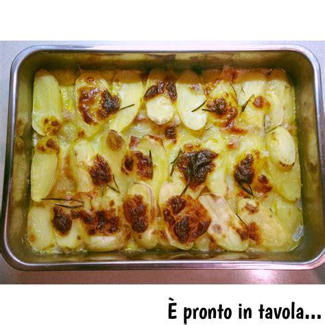 www pronto in tavola e pronto in tavola tortino di patate e mozzarella