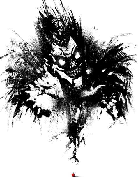 death note here s a ryuk painting i made for omnicon
