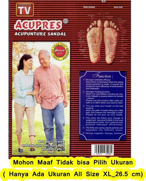Sandal Pijat sandal terapi kesehatan rasakan nikmat pijat refleksi