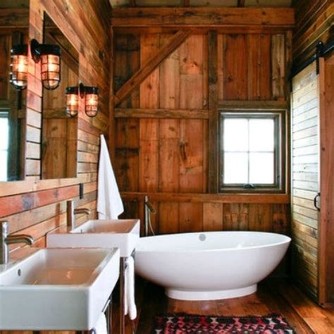 rustic bathroom walls 44 rustic barn bathroom design ideas digsdigs