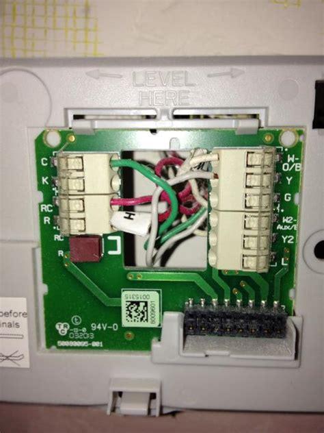 Honeywell Rth9580wf Wiring Diagram Honeywell Thermostat Wiring Diagram Wiring Diagram Elsalvadorla Problem With Honeywell Wifi Smart Thermostat Hvac Diy Chatroom Home Improvement Forum