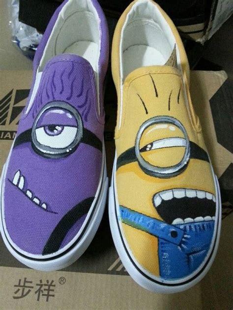 minion shoes minion shoes despicable me minion shoes painted shoes