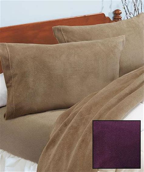 ultra soft plush microfleece bedding sheet set for cozy