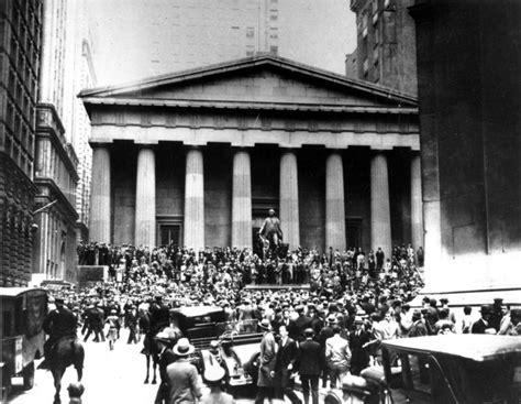 Panci Infusa black thursday stock market crash causes chaos in 1929 ny daily news