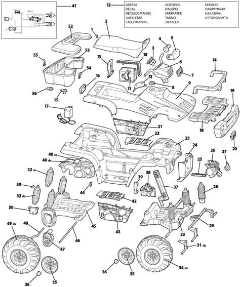 polaris parts diagram peg perego polaris sportsman 2x x2 parts