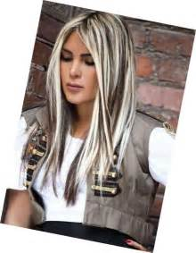 images grey and blond hair blend platinum blonde highlights for gray hair dark brown hairs
