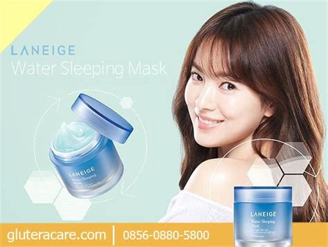harga laneige water sleeping mask review ciri asli palsu