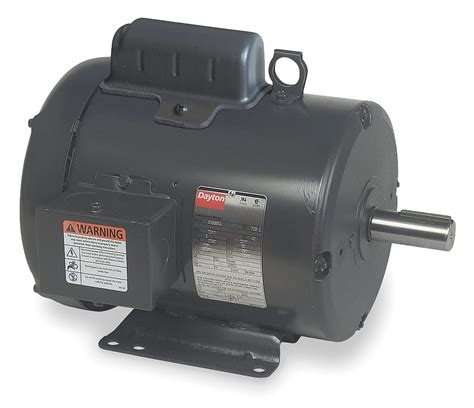 purpose of capacitor in fan motor dayton 1 1 2 hp general purpose motor capacitor start 1740 nameplate rpm voltage 115 230