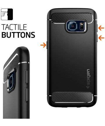 Spigen Rugged Capsule Samsung Galaxy S7 Rugged Armor S7 Flat spigen rugged armor samsung galaxy s7 zwart gsmpunt nl