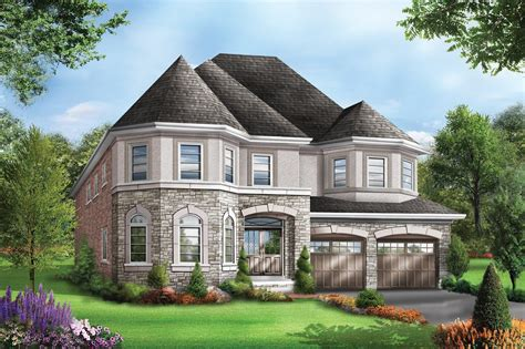 Bungaloft Floor Plans by Bristol 1 At River S Edge In Brampton By Starlane Homes