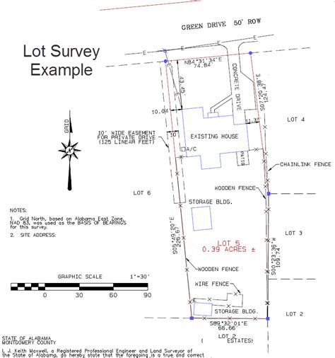 What Is Survey - lot survey dothan land surveying
