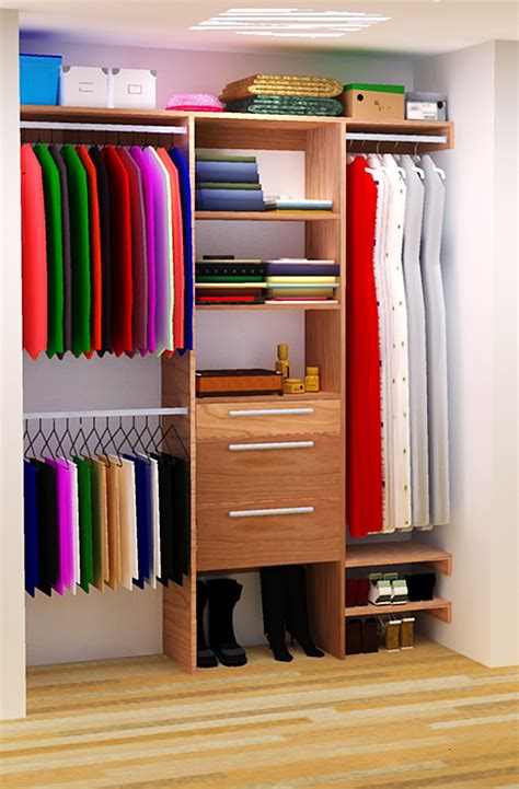 In A Closet by Diy Closet Organizer Plans For 5 To 8 Closet