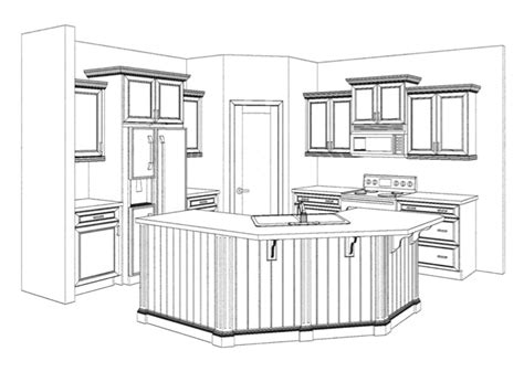 sketch book gambar kitchen elevation for the kitchen kitchens