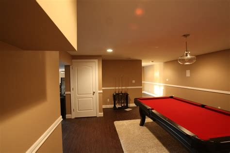finished basements nj basement finishing project in somerset county new jersey