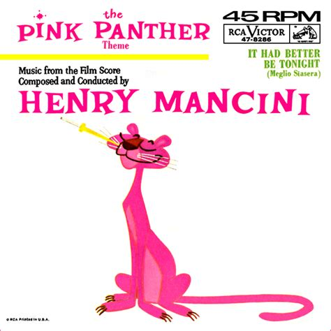 theme song pink panther way back attack henry mancini