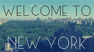 Welcome To Welcome To New York Cover