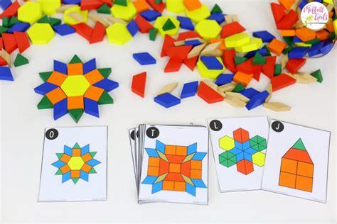 kindergarten pattern block games kindergarten math curriculum shapes