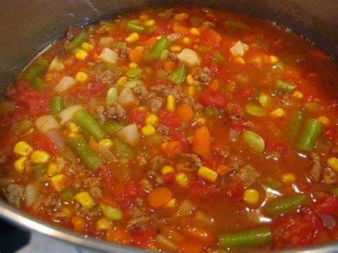 best of vegetable soup recipe 44 best images about food and crafts on bacon