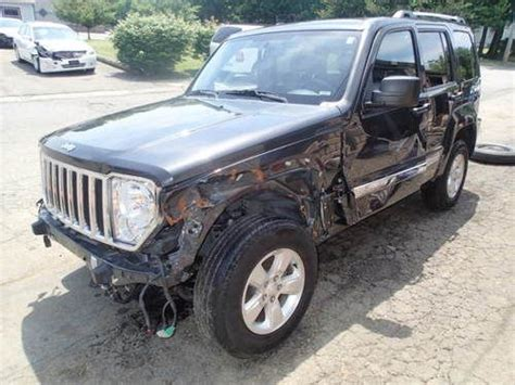 wrecked jeep liberty sell used 2011 jeep liberty limited 4wd non salvage