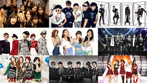 k pop idol group infographic 2014 soompi