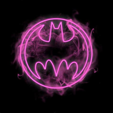 Bubblechats Pink Batman T Shirt neon pink bat signal t shirt design by dccomics fancy t