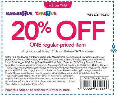 coupons babies r us july 2018