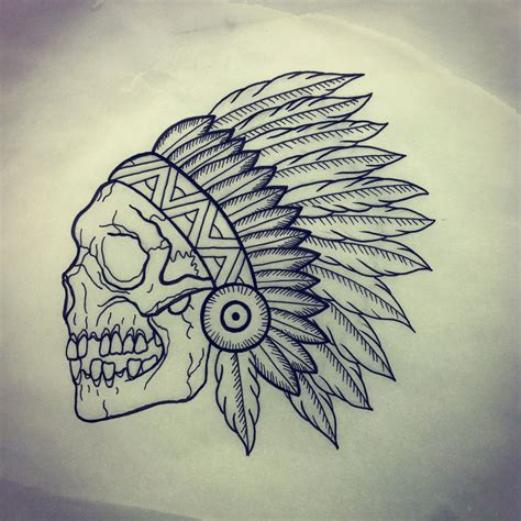 skull headdress tattoo skull wallpaper adam 613ca
