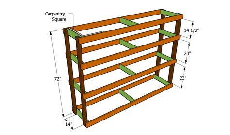 woodwork  shelf plans garage  plans
