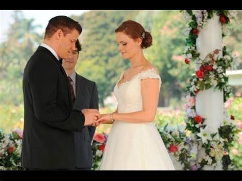 temperance brennan and seeley booth wedding |bones| youtube