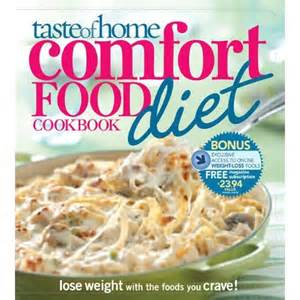 taste of home comfort food diet cookbook review