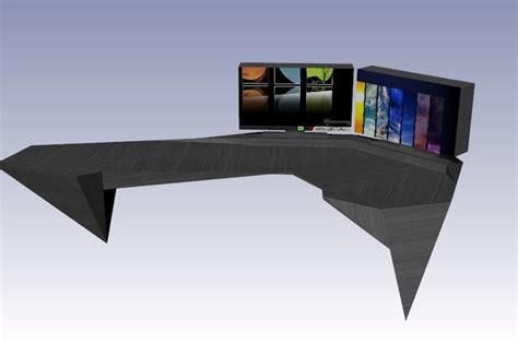 Future Desks by Future Desk 2 Rhino Step Iges 3d Cad Model Grabcad