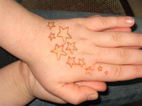 henna star tattoos henna tattoos