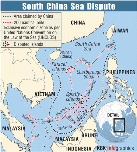 territorial disputes in south china sea photos,images