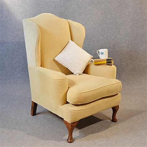 wingback armchairs uk antique armchair wingback wing arm chair victorian english c1900 239574