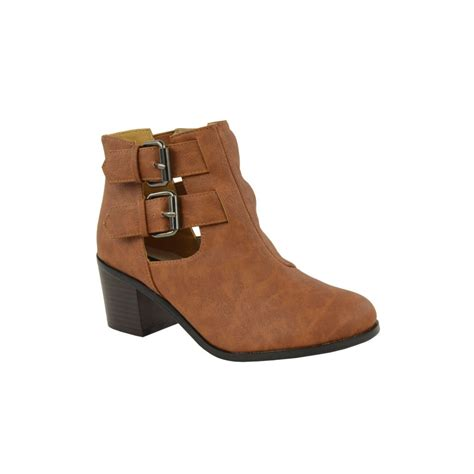 buckle ankle boots gabby block heel buckle ankle boots