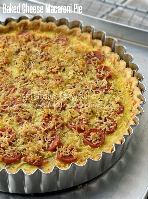 Loyang Pizza Diameter 18cm just my ordinary kitchen lbt 2 baked cheese macaroni pie