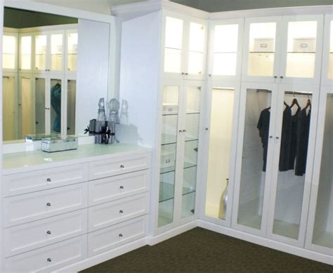 California Closets Wardrobe by Bellisima White Shaker Style Wardrobe