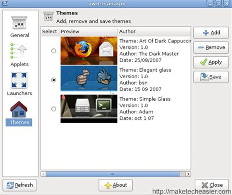 awn themes how to get a mac osx style dock in hardy heron