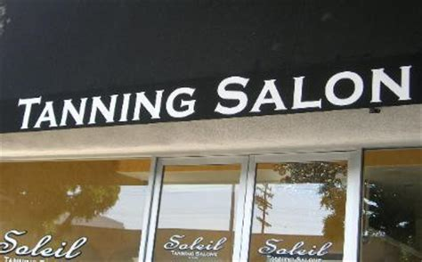 awning lettering the window goddess professional sign